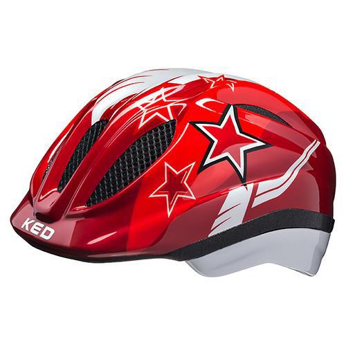 KED Helm Meggy II Red Stars