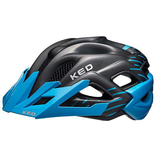 KED Helm Status Junior Blue Black Matt