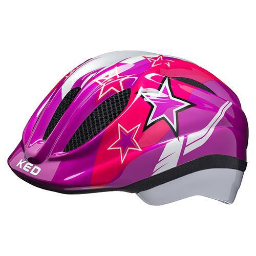 KED Helm Meggy II Violet Stars