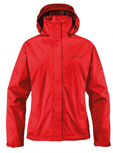 Vaude Women's Escape Bike Light Jacket red