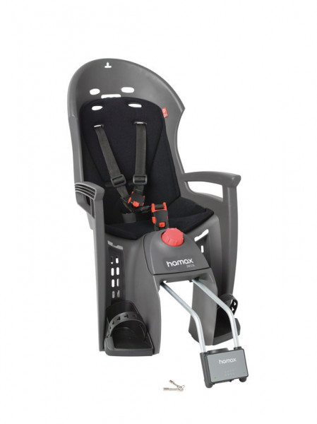 HAMAX Kindersitz Siesta grau/schwarz