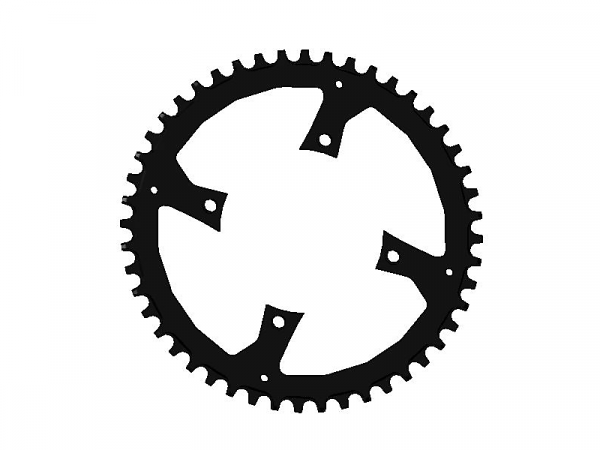 CHR PRAXIS MY17 VADO 48T, CHAINRING,104,WAVE