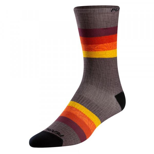 PEARL IZUMI Pro Tall Sock lava topo aspect