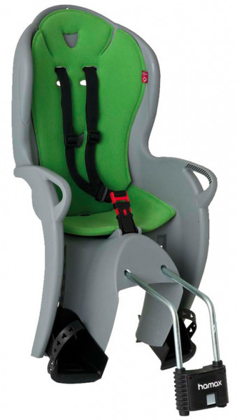HAMAX Kindersitz Kiss grau/grün